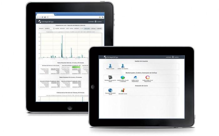 Aplicación Web de Estaciones de Control Medioambiental adaptada a los terminales IPad