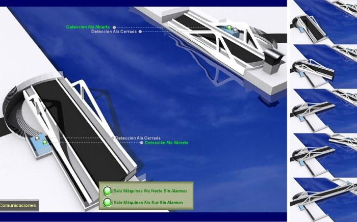 Integración del Puente Giratorio, Automatización Industrial