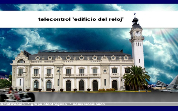 Telecontrol Edificio del Reloj, Automatización Industrial