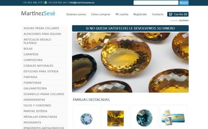 Martínez Sesé, diseño web