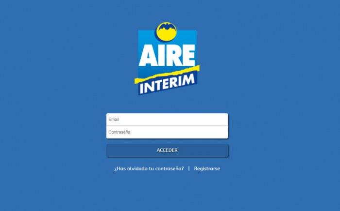 Interim Aire, diseño web