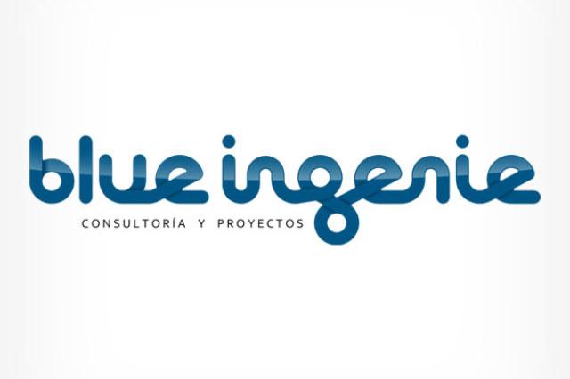 Blue Ingenie , diseño gráfico, logotipo, imagen corporativa