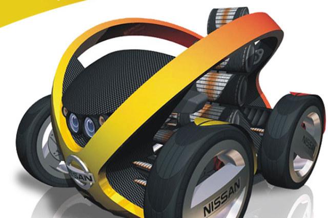 Nissan eXfera, sketches cars, diseño industrial, Autopista, Nissan, UPV