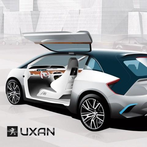 Audi QR2, sketches cars, diseño industrial