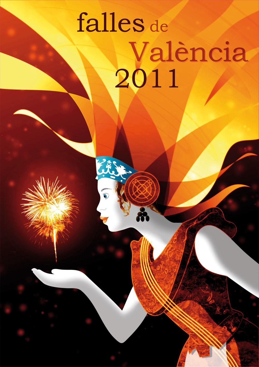 Cartel Concurso Fallas de Valencia