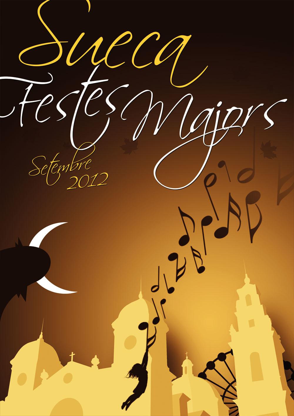 Cartel Concurso Festes Majors Sueca