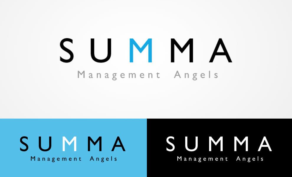 SUMMA Management Angels, diseño gráfico, logotipo, imagen corporativa
