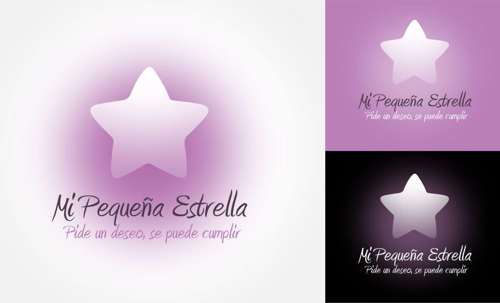 Mi pequeña estrella, diseño gráfico, logotipo, imagen corporativa