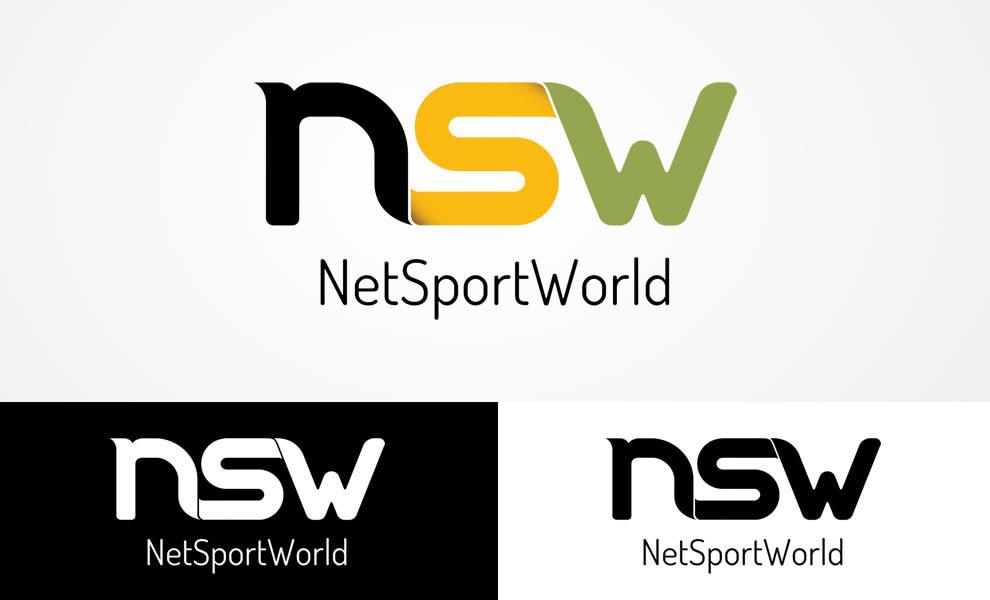 Net Sport World, diseño gráfico, logotipo, imagen corporativa