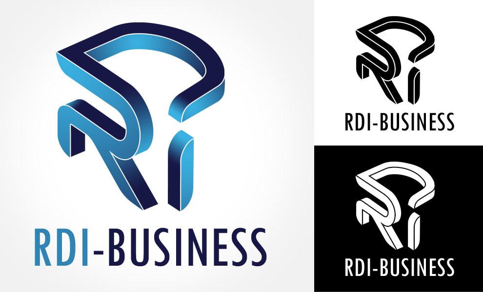 Logo RDI, diseño gráfico, logotipo, imagen corporativa